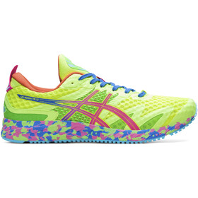 asics Gel-Noosa Tri 12 Shoes Men, safety yellow/hot pink